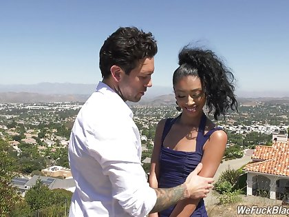 Latina teen Jada Doll enjoying some steamy daytime be crazy with her lover