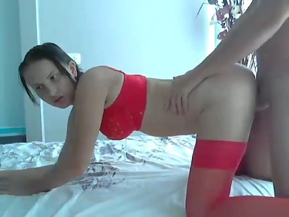Every man loves distance off blowjob and this whore loves doggy style sex