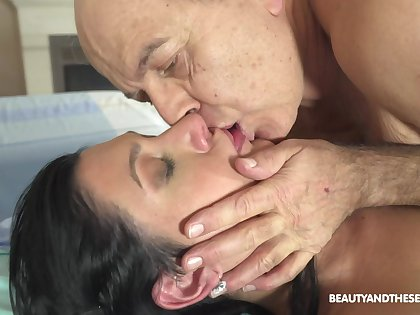 Hot doctor fucks her much older patient go forwards and she's ergo naughty