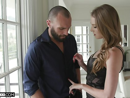 Cuckold husband is filming sexy wifey fucking his best friend